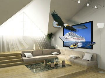 Did you know that the 3D effect on TV's can be realized by micro-optics structures?